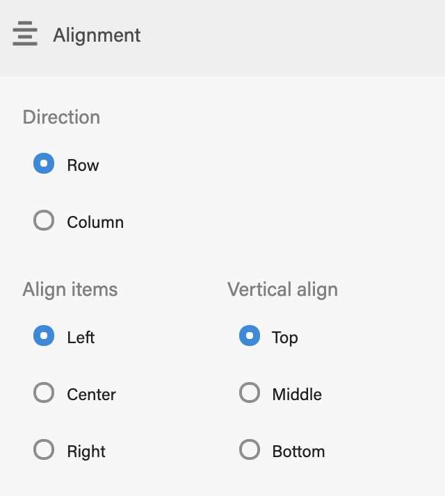 Editor config alignment